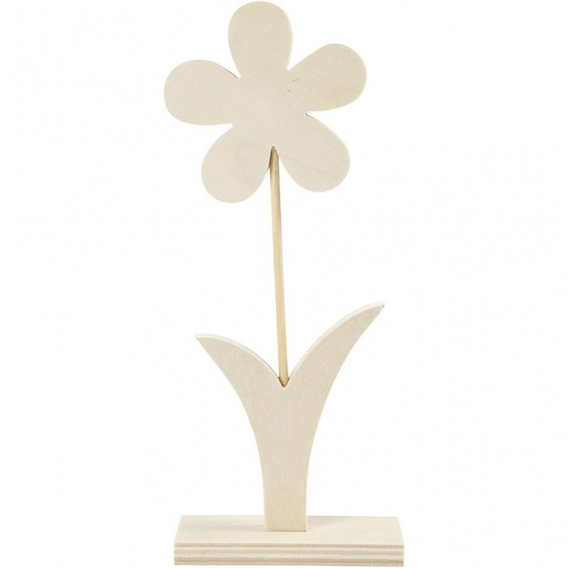 Blume, H: 23 cm, B: 9,5 cm, 1 Stck.