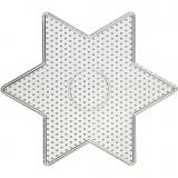 Steckbrett, Großer Stern, Größe 15x15 cm, 10 Stck./ 1 Pck.
