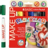 Playcolor Make up, Sortierte Farben, 6x5 g/ 1 Pck.