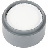 Grimas Gesichtsschminke, Weiß, 15 ml/ 1 Dose