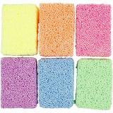 Soft Foam, Sortierte Farben, 6x10 g/ 1 Pck.