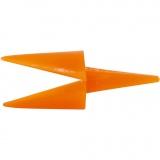 Hühnerschnäbel, Orange, L: 30 mm, 50 Stck./ 1 Pck.