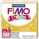 FIMO® Kids Clay, Gold, Glitter, 42 g/ 1 Pck