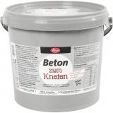 Beton-Modelliermasse, Grau, 5000 g/ 1 Pck.