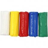 Soft Clay Knetmasse, Sortierte Farben, H: 9,5 cm, 400 g/ 1 Eimer