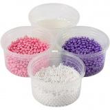 Pearl Clay® , Pink, Flieder, Weiß, 1 Set, 3x25+38 g