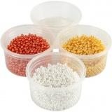 Pearl Clay® , Orange, Weiß, Gelb, 1 Set, 3x25+38 g
