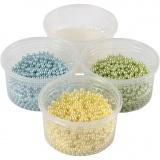 Pearl Clay® , Hellblau, Hellgrün, Hellgelb, 1 Set, 3x25+38 g