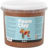 Foam Clay® , Braun, 560 g/ 1 Eimer