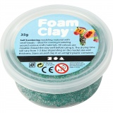 Foam Clay® , Dunkelgrün, 35 g/ 1 Dose