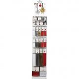 Papierstreifen für Fröbelsterne - Sortiment, Sortierte Farben, 244 Teile/ 1 Pck.