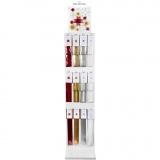 Papierstreifen für Fröbelsterne - Sortiment, Sortierte Farben, 120 Teile/ 1 Pck.