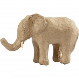 Elefant, H: 9 cm, L: 13 cm, 1 Stck.
