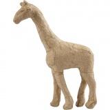 Giraffe, H: 16 cm, L: 11 cm, 1 Stck.