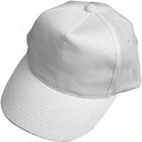 Cap, Weiß, Größe 49,5-56 cm, 1 Stk