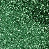 Bio Sparkles, Grün, D: 0,4 mm, 10 g/ 1 Dose
