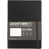 Notizbuch - Bullet Journal, Schwarz, A5, dicke 2 cm, 240 , 1 Stck.