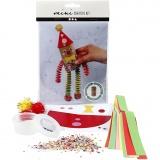 Mini-Kreativ-Set, Clown aus einer Papprolle, 1 Set
