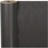 Geschenkpapier , Schwarz, B: 50 cm, 60 g, 100 m/ 1 Rolle