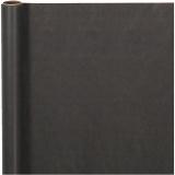 Geschenkpapier , Schwarz, B: 50 cm, 60 g, 5 m/ 1 Rolle