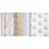 Geschenkpapier, 52x75 cm, 80 g, 25x2 Bl./ 1 Pck.
