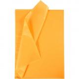 Seidenpapier, Gelb, 50x70 cm, 17 g, 10 Bl./ 1 Pck.