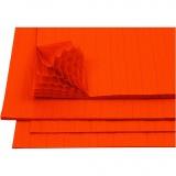 Harmonika-Papier, Orange, 28x17,8 cm, 8 Bl./ 1 Pck.