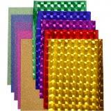 Dekofolie - Sortiment, Sortierte Farben, B: 35 cm, dicke 30+110 my, 10x2 m/ 1 Pck.