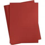 Karton, farbig, Bordeaux, A2, 420x600 mm, 180 g, 100 Bl./ 1 Pck.