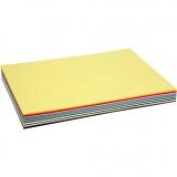 Farbkarton, Sortierte Farben, A2, 420x600 mm, 180 g, 20 Bl. sort./ 1 Pck.