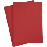 Papier, Rot, A4, 210x297 mm, 80 g, 20 Stck./ 1 Pck.