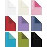 Briefpapier, Sortierte Farben, A4, 210x297 mm, Inhalt kann variieren , 100 g, 30x20 Bl./ 1 Pck.