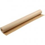 Kraft-Papier, Braun, B: 150 cm, 200 g, 50 m/ 1 Rolle