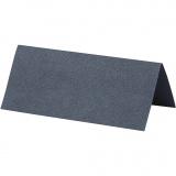 Tischkarten, Blau, Größe 9x4 cm, 220 g, 10 Stck./ 1 Pck.
