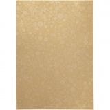 Papier, Gold, A4, 210x297 mm, 80 g, 20 Bl./ 1 Pck.