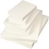 Aquarellpapier, Weiß, A3,A4,A5, 200+300 g, 6x100 Bl./ 1 Pck.