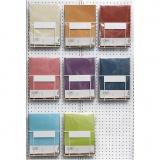 Pergamentpapier, Sortierte Farben, A4, 210x297 mm, 100 g, 8x10 Pck./ 1 Pck.