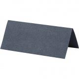 Tischkarten, Blau, Größe 9x4 cm, 220 g, 20 Stck./ 1 Pck.