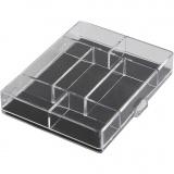 Aufbewahrungsbox, Größe 11,8x9,3x2,2 cm, 100 Stck./ 1 Pck.