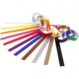 Papierketten, Sortierte Farben, L: 16 cm, B: 15 mm, 400 Stck./ 1 Pck.