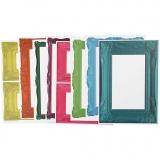 Rahmen, Kräftige Farben, Größe 26,2x18,5 cm, 16 Bl. sort./ 1 Pck.