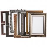 Rahmen, Metallic-Farben, Größe 26,2x18,5 cm, 16 Bl. sort./ 1 Pck.