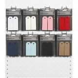 Manila-Anhänger - Sortiment, Sortierte Farben, Größe 3x8 cm, 220 g, 8x10 Pck./ 1 Pck.