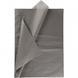 Seidenpapier, Dunkelgrau, 50x70 cm, 14 g, 25 Bl./ 1 Pck.