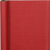 Geschenkpapier , Rot, B: 50 cm, 60 g, 5 m/ 1 Rolle