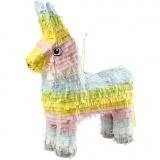 Piñata, Pastellfarben, Größe 39x13x55 cm, 1 Stck.