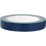Isolierband, Blau, B: 19 mm, 25 m/ 1 Rolle
