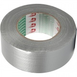 Isolierband, Silber, B: 50 mm, 50 m/ 1 Rolle