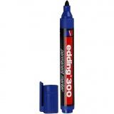 Edding 300 Marker, Blau, Strichstärke 1,5-3 mm, 1 Stck.