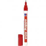 Edding 404 Marker, Rot, Strichstärke 0,75 mm, 1 Stck.